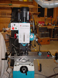 The manual milling machine - before the conversion